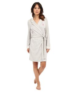 Lauren Ralph Lauren | French Terry Hooded Robe Heather Womens