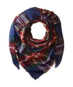 Steve Madden | Classic Plaid Square Scarf Scarves
