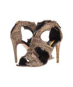 Rupert Sanderson   Estelle Dusty Tweed Glitz High Heels
