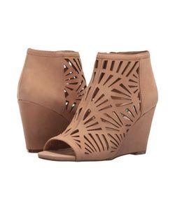 BCBGeneration | Speranza Latte Elko Nubuck Womens Wedge Shoes