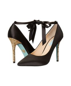 Blue by Betsey Johnson | Bri Satin High Heels