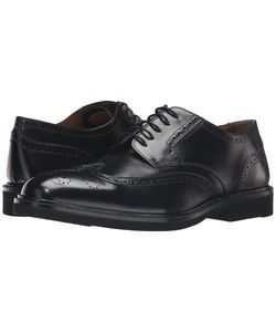 Florsheim   Hamilton Wingtip Oxford Smooth Mens Lace Up Wing