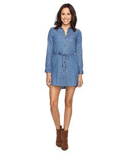 Calvin Klein Jeans | Denim Belted Shirtdress Emily Mid Rinse Womens