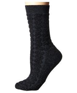 SmartWool | Cozy Dot Crew Charcoal Heather Womens Crew Cut Socks