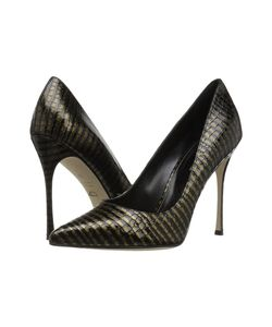 Sergio Rossi | Godiva Stamped Leather High Heels