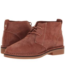 Hush Puppies | Cyra Catelyn Shimmer Suede Womens Lace-Up Boots