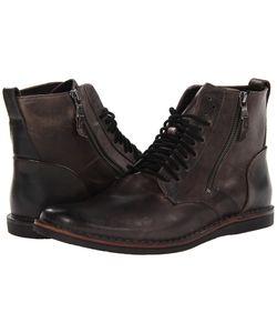 John Varvatos | Barrett Side Zip Boot Lead Mens Boots