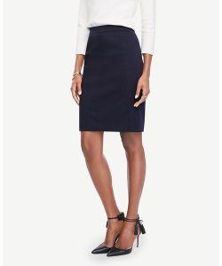 Ann Taylor | Cotton Sateen Pencil Skirt