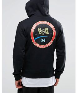 Billionaire Boys Club | Zip Through Hoodie With Space Back Print