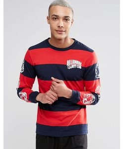 Billionaire Boys Club | Long Sleeve T-Shirt With Large Stripes