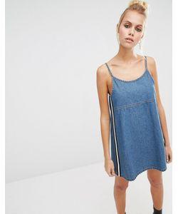 Unif | 90s Denim Pinny Dress