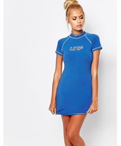 Unif | Kit Bodycon Dress With Front Logo