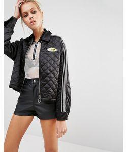 Unif | 90s Zip Front Satin Jacket