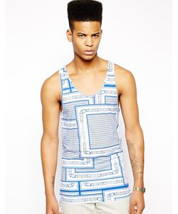 Christopher Shannon | Kidda Tank With Belt Print