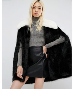 Unreal Fur | Majestic Faux Fur Cape