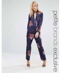 Alter Petite | Floral Print Pyjama Trouser Co-Ord