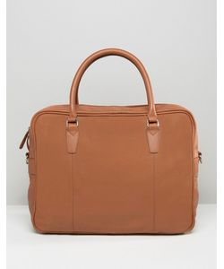 ASOS | Briefcase In Leather