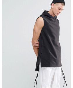 Maharishi | Long Hooded Sweat Gilet