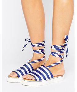 Clover Canyon | Stripe Slide Sandals