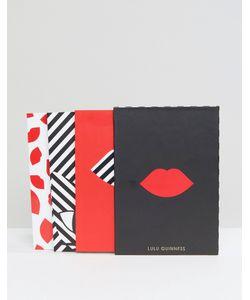 Lulu Guinness | Set Of 3 Notebooks