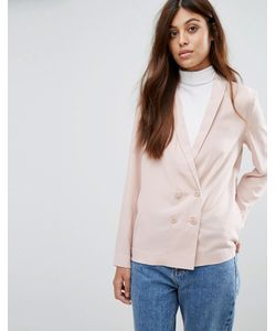 New Look | Crepe Double Breasted Soft Blazer