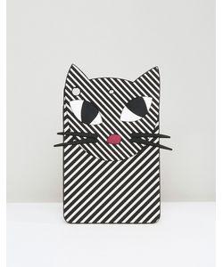 Lulu Guinness | Stripey Kooky Cat Ipad Mini Case