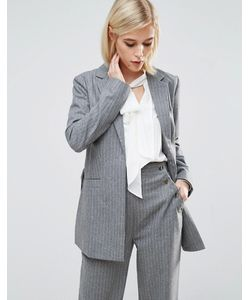 Lost Ink | Pin Stripe Suit Jacket Co-Ord