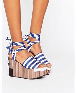 Clover Canyon | Flatform Stripe Sandal