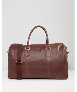 Barney's Originals | Barneys Structu Leather Carryall In Oxblood