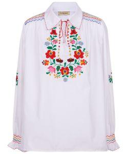 Muzungu Sisters | Embroidered Dora Collar Shirt