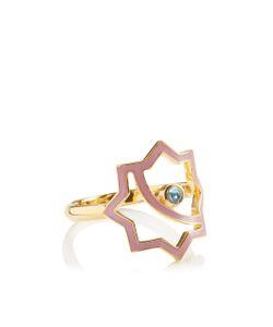 Leivankash | Gold Enamel Kasha Ring