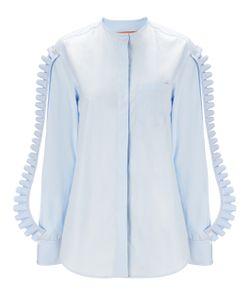 Coperni Femme | Cotton Pleated Sleeve Chemise