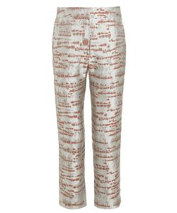 Alexander Lewis | Silver Birch Brocade Galena Trousers