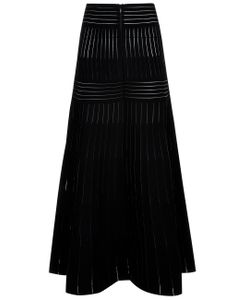 Barbara Casasola | Stretch Knit Fluted Skirt
