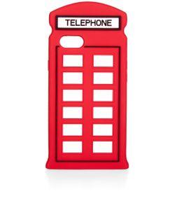 Lulu Guinness | Telephone Box Iphone 7 Case