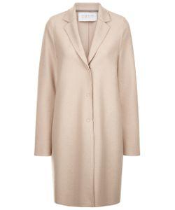 Harris Wharf | Light Cream Wool Cocoon Coat