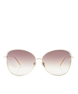 Linda Farrow | Rim Sunglasses