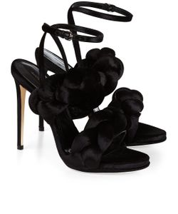 Marco de Vincenzo | Velvet Braided Sandals