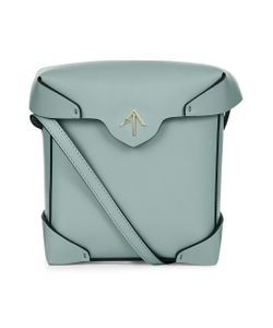 Manu Atelier | Water Leather Mini Pristine Box Bag