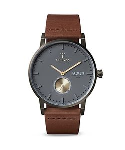Triwa | Falken Leather Strap Watch 38mm