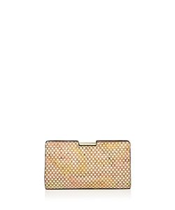 MILLY | Geo Frame Small Cork Clutch
