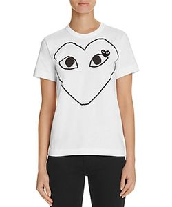 Comme Des Garçons Play | Comme Des Garcons Play Heart Graphic Tee
