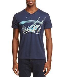 Sol Angeles   Moonshadow Graphic V-Neck Tee