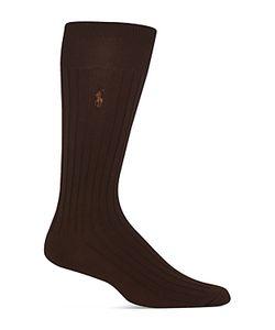Polo Ralph Lauren | Egyptian Cotton Blend Ribbed Trouser Socks