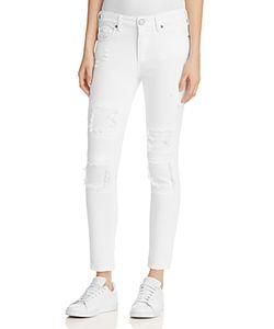 True Religion | Halle Super Skinny Crop Jeans In Optic