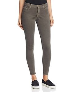 Hudson   Mid Rise Ankle Skinny Jeans In