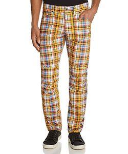 G-Star Raw | 5635 3d Chennai Plaid New Tape Fit Canvas Pants