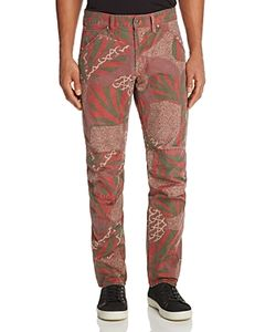 G-Star Raw | 5635 3d African Print New Tape Fit Canvas Pants
