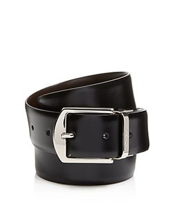 Canali | Reversible Calfskin Leather Belt