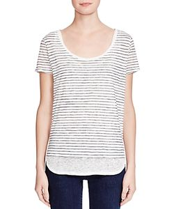 Majestic Filatures | Striped Double Layer Tee